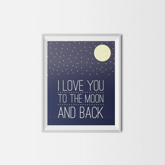 i love you to the moon and back i love you moon nursery. Black Bedroom Furniture Sets. Home Design Ideas