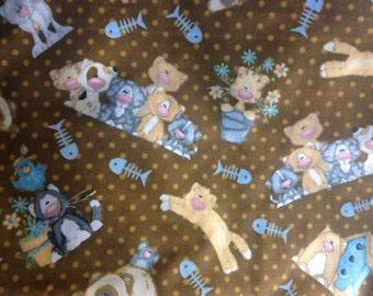 Cat Fabric - Kitten Fabric
