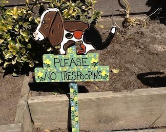 No poop sign wood dog no poop sign curb your dog sign
