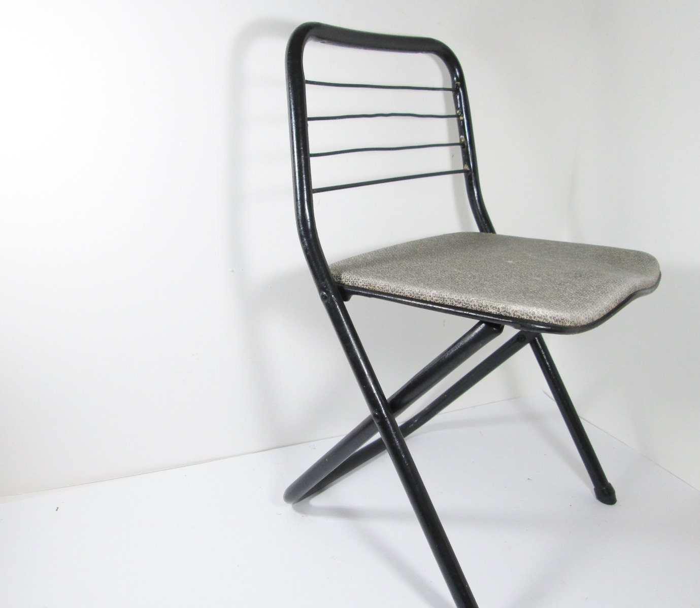 Vintage Childs Metal Folding Chair by Cosco by GirlPickers on Etsy
