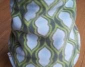 50% OFF Neck Warmer, Kids' Winter Neckwarmer - Fleece & Jersey, adjustable cowl/scarf, velcro-fastening, blue, lime, white