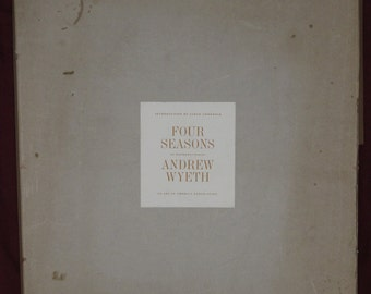 The Four Seasons, 12 Andrew Wyeth Reproductions
