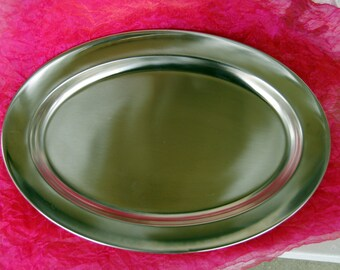 Vintage Tray - Swedish, Stainless Steel - 1970's - Stunning!