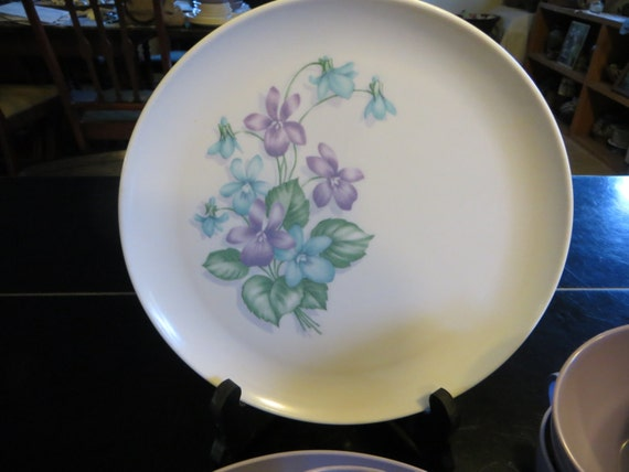 Purple Royalon Corsage Pattern on Etsy at YaYasAttic & Melmac Encyclopedia: What Is Melmac Dinnerware Worth?