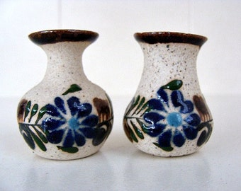Vintage Miniature Vases Made In Mexico