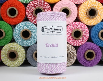 240 Yards of Twist Orchid Light Purple Baker's Twine - String - Embellishment Packaging Craft Party Supplies