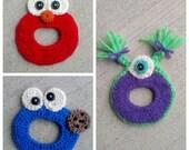 Handmade Crochet Camera Lens Buddy