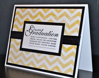 Handmade Graduation Card, Stampin Up Card