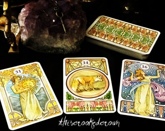 Tarot, Oracle, and Cartomancy - Your questions answered. Intuitive psychic tarot oracle card divination reading.