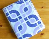 Vintage Sheet Set - Hip Purple Geometric - Twin Sheet Set - Retro Bed Sheets