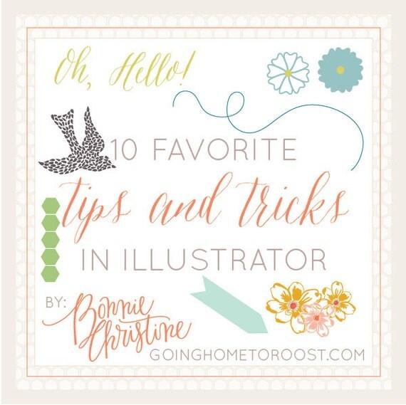 10 favorite tips and tricks in adobe illustrator