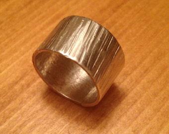 Darci ~ Handforged Sterling Silver Ring