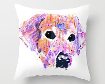Belle the Lab || Pillow Case || Throw Pillow Case || Labrador || Labrador Retriever