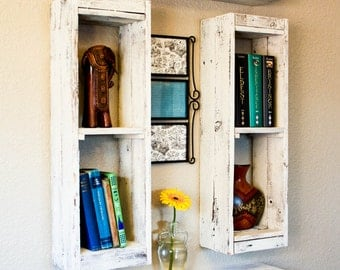 Crate Style Display Shelves (set of 4)