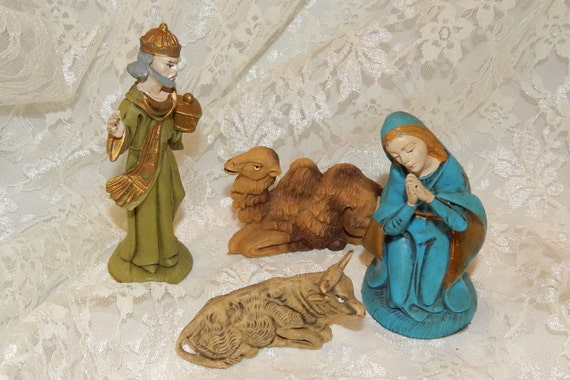 Vintage Nativity Figures 69