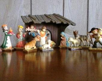 Toriart by Anri miniature Nativity Set