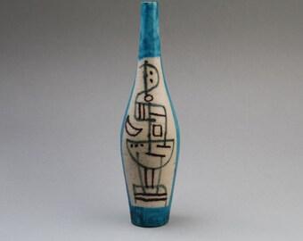 Original Guido Gambone vase 1950s, Italy