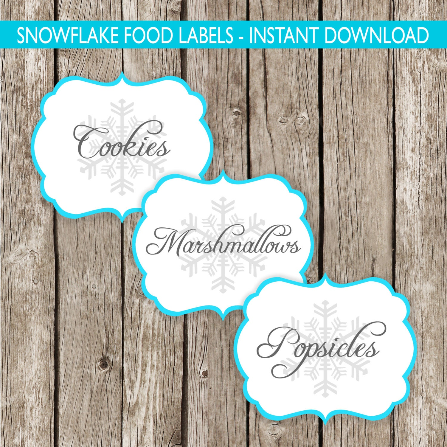 This is a photo of Versatile Frozen Food Labels Free Printable