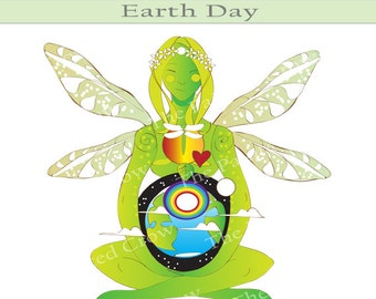 Mother earth illustration fairy clipart earth goddess art fairy clip art - Mother earth clipart ...