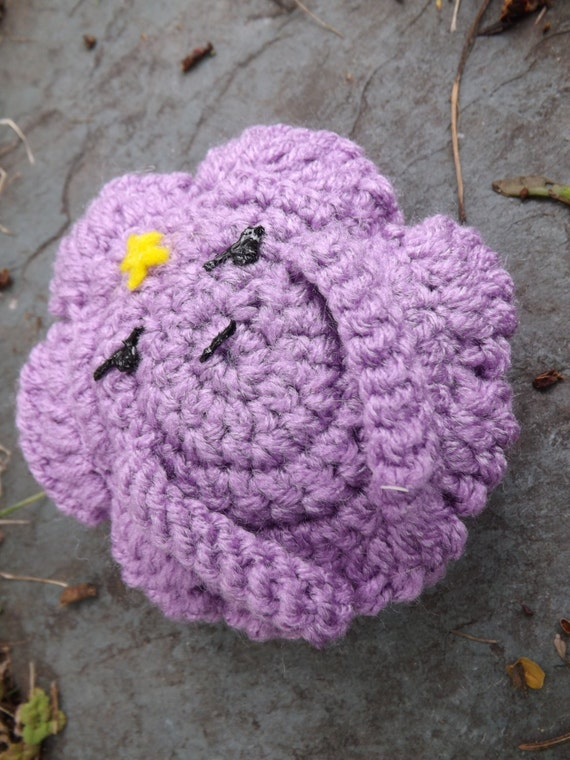 Li'l Lumpy Space Princess Crochet Amigurumi Pattern - DIGITAL DOWNLOAD