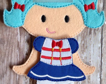 Lalaloopsy Marina Anchors Felt Doll and Outfit