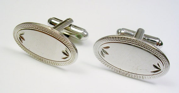 Sterling silver cufflinks swank men 39 s by unclesteampunk for What is swank jewelry