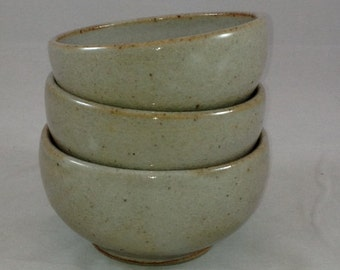Small, Stackable Shino Bowl