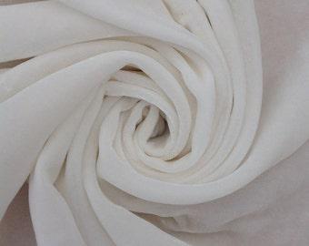 Silk Velvet, Silk Devore, Silk Fabric, Neutral Fabric, Undyed Fabric
