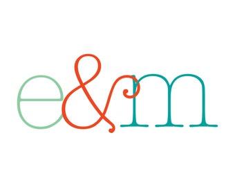 Custom Monogram Design