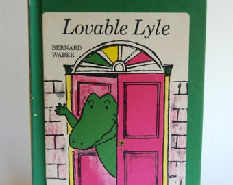 Vintage Children's Book, Lovable Lyle