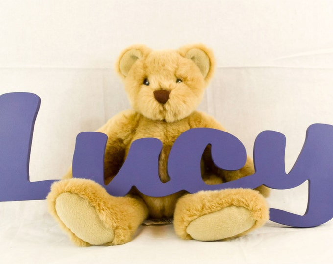 Nursery Decor - Kids Personalized Wooden Name Signs - Children's Name Wall Decor, Wooden Letters, Wooden Names, Wall Names, Wall Letters