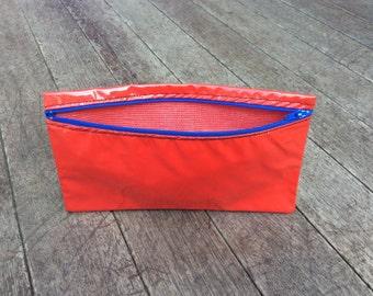 Pencil Case Oilcloth Red
