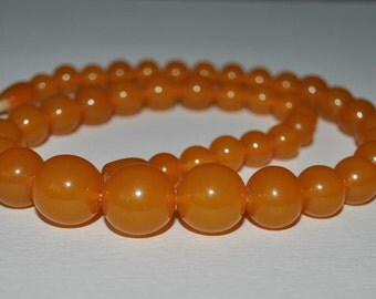 Vintage Russian    Baltic  Amber necklace butterscotch amberb , Amber Jewelry genuine Amber