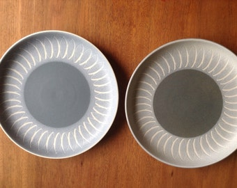 Denby Echo Blue Dinner Plates