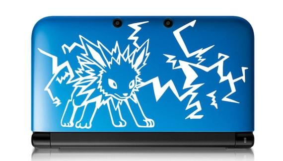 Jolteon Pokemon autocollant verser 3DS XL, 3DS