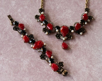 Juliana Rare Early Necklace and Bracelet