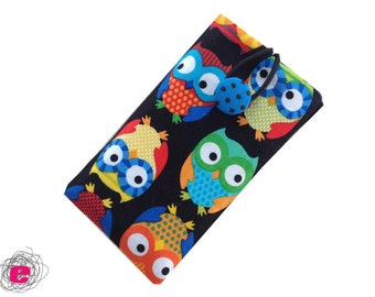 IPhone sleeve owls, Cellphone pouch