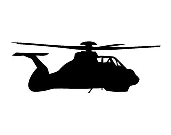 Comanche Helicopter Vinyl Sticker