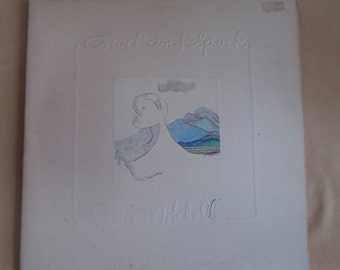 """Joni Mitchell """"Court And Spark"""" LP Record"""