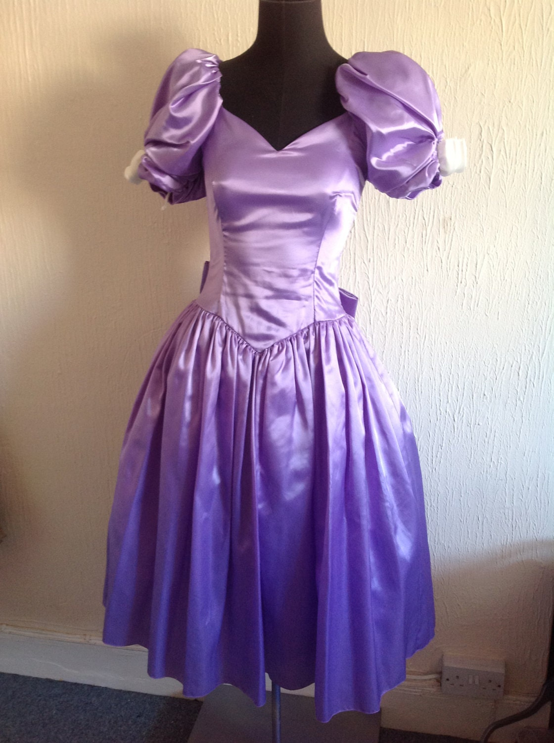 1950's Inspired Bridesmaid dress 80's Vintage | 1120 x 1500 jpeg 298kB