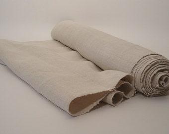 Antique linen roll Upholstering fabric Vintage linen Stairrunner 8,7 Yards