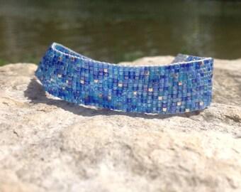 Beaded Blues Bracelet