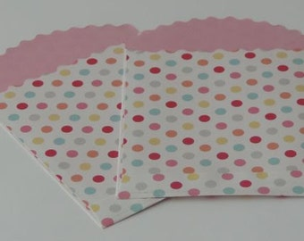 Cupcake Sprinkles Treat Bags - Just add a special treat and you've got adorable favors!