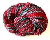 Christmas. Handspun yarn