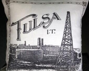 Tulsa I.T. Pillow Cover