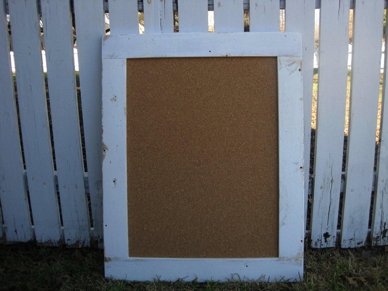 framed cork board large bulletin board by zacocreations. Black Bedroom Furniture Sets. Home Design Ideas