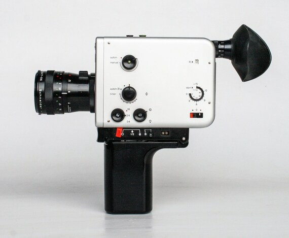 vintage super 8 camera braun nizo 561 macro 60 39 s. Black Bedroom Furniture Sets. Home Design Ideas