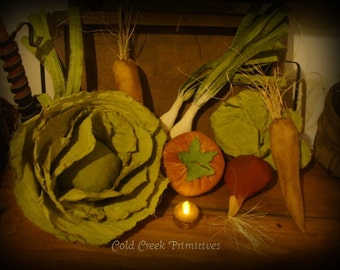 Primitive Vegetables Set