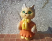 Vintage Russian Cat Toy Made in USSR in 1970s