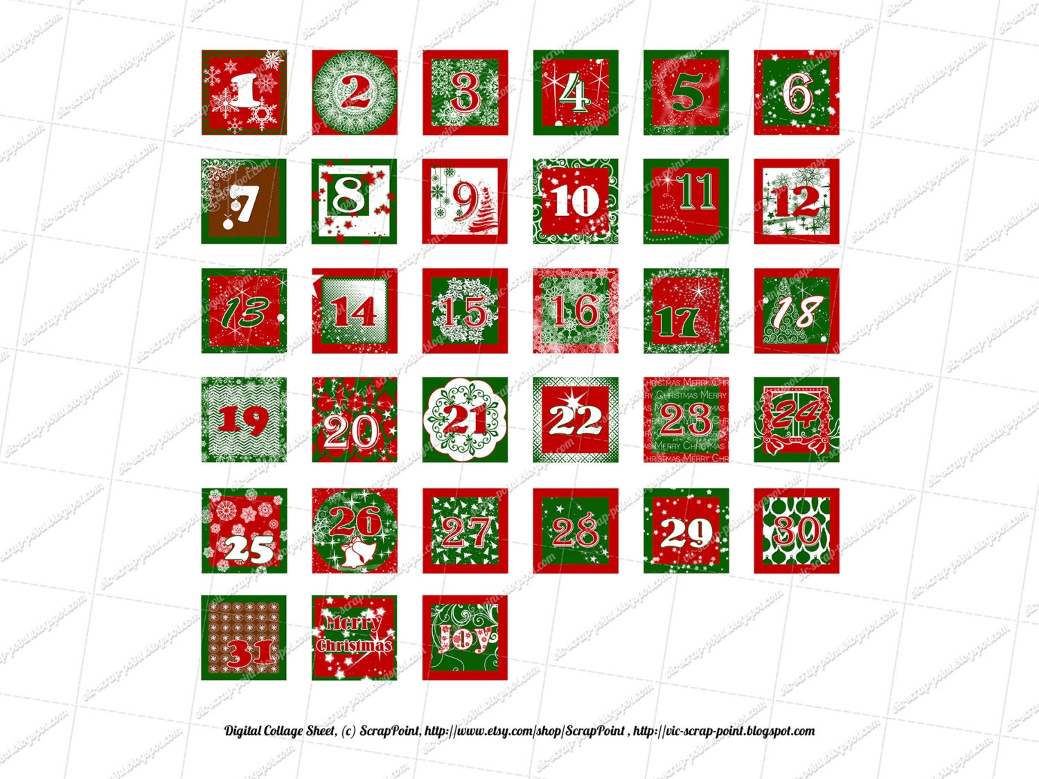 Magic image with christmas numbers printable